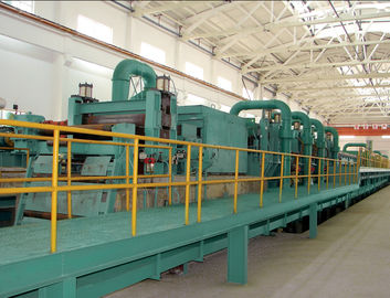 Semi Continuous Push Pull Pickling Line For Removing Ferric Oxide