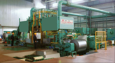 Cold Carbon Steel Rolling Mill Machine 1450mm AGC 900m / Min Six Roller